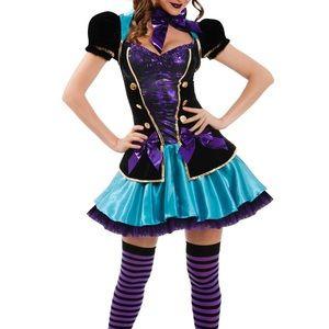 Mad hatter Halloween costume Alice in wonderland